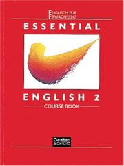 Cover of: Essential English, Bd.2, Course Book | Ken Wilson