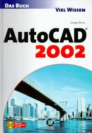 Cover of: Das AutoCAD 2002 Buch | George Omura