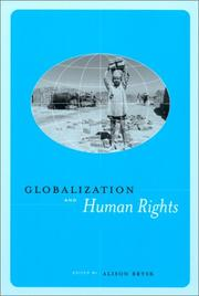Cover of: Globalization and Human Rights | Alison Brysk