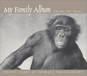 Cover of: My Family Album | Frans de Waal