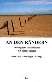 Cover of: An Den Randern | Ilona Nord