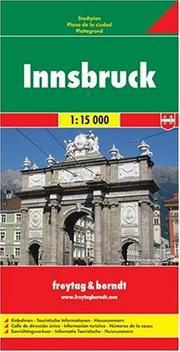 Cover of: Innsbruck, Austria Map | Freytag & Berndt