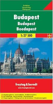 Cover of: Budapest, Hungary | Freytag & Berndt