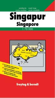 Cover of: Singapore and Singapore City Map | Freytag & Berndt