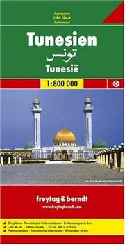 Cover of: Tunisia Map | Freytag & Berndt