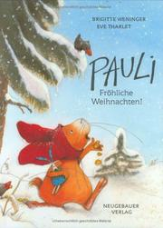 Cover of: Pauli, Frohliche Wei(GR by B. Weninger