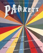 Cover of: Parkett No. 80 | Bice Curiger