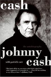 Cover of: Cash | Johnny Cash