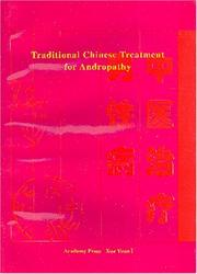 Cover of: Traditional Chinese Treatment for Andropathy | Hou Jinglun
