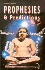 Cover of: Prophecies and Predictions | A.K. Sharma