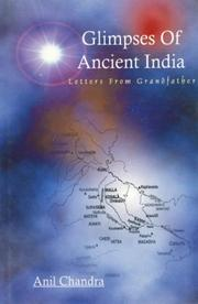 Cover of: Glimpses of Ancient India | Anil Chandra