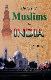 Cover of: History of Muslims in India | M.H. Syed