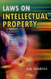 Cover of: Laws on Intellectual Property | S.R. Sharma