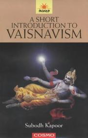 Cover of: A Short Introduction to Vaisnavism | Subodh Kapoor
