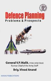 Cover of: The New Face of Defence Planning | V.P. Malik