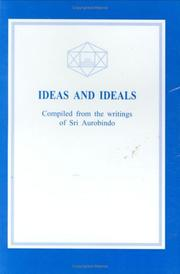 Cover of: Ideas and Ideals | Aurobindo Ghose