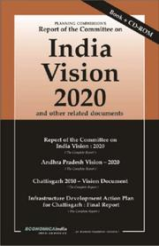Cover of: Planning Commission's Report of the Committee on India Vision 2020 | New Delhi Foreign Service Institute