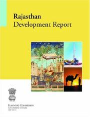 Cover of: Rajasthan Development Report | Government of India Planning Commission