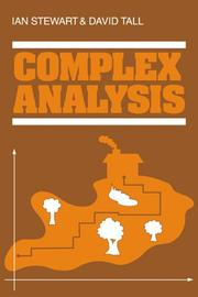 Cover of: Complex analysis | Ian Stewart