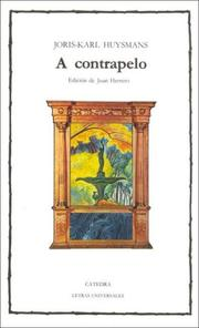 Cover of: A Contrapelo / Against Nature | Joris-Karl Huysmans
