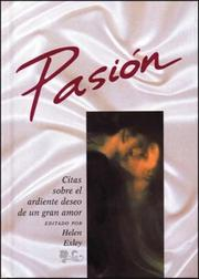 Cover of: Pasión | Helen Exley