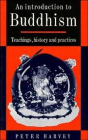 Cover of: An introduction to Buddhism | Harvey, Peter