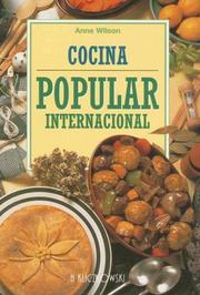 Cover of: Cocina Popular Internacional by Anne Wilson
