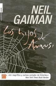 Cover of: Los Hijos de Anansi by Neil Gaiman