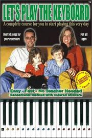Cover of: Let's Play The Keyboard (English) | Ricardo Pfutzenreuter