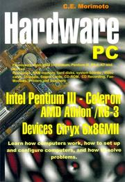 Cover of: Hardware PC by C. E. Morimoto