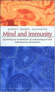 Cover of: Mind and Immunity by Zachariae