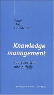Cover of: Knowledge Management | Peter Holdt Christensen