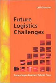 Cover of: Future Logistics Challenges | Leif Enarsson