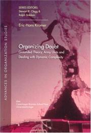 Cover of: Organizing Doubt by Eric-hans Kramer
