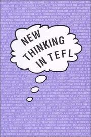 Cover of: New Thinking in Tefl (The Dolphin, 21) | Tim Caudery