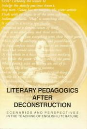 Cover of: Literary Pedagogics After Deconstruction | Per Serritslev Petersen