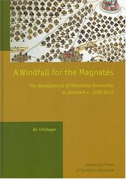 Cover of: A Windfall For The Magnates by Bo Fritzboger