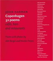 Cover of: copenhagen 32 poems cafes, bars and restaurants by john harman