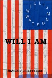 Cover of: Will I Am by Henrik F. Christensen