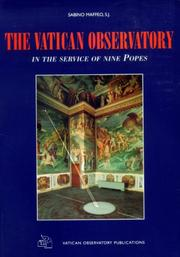 Cover of: The Vatican Observatory | Sabino S. J. Maffeo
