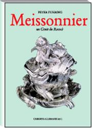 Cover of: Juste-Aurele Meissonnier by Peter Fuhring