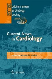 Cover of: Current News in Cardiology by Michele M. Gulizia