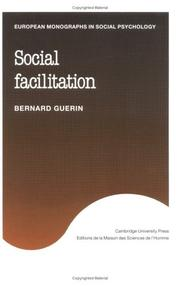 Cover of: Social facilitation | Bernard Guerin