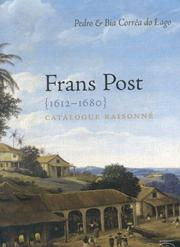 Cover of: Frans Post 1612-1680 by Pedro Correa do Lago