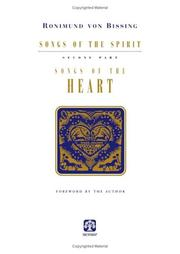 Cover of: Songs of the Heart by Ronimund Von Bissing