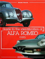 Cover of: Guide to the Identification of Alfa Romeo Cars | Maurizio Tabucchi