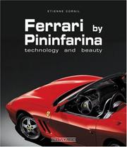 Cover of: Ferrari by Pininfarina by Etienne Cornil