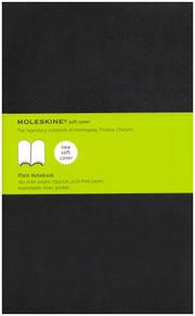 Cover of: Moleskine Plain Notebook Soft Cover Large | Moleskine