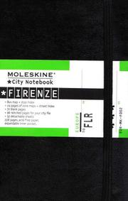 Cover of: Moleskine City Notebook Firenze (Florence) | Moleskine