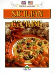 Cover of: Sicilian Cooking | Carmelo Sammarco